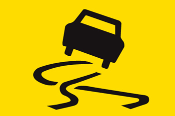 Car-Skidding-Sign-Photo